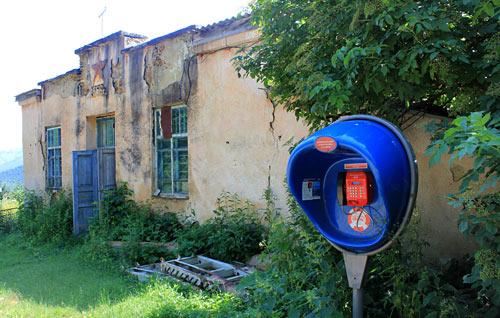 Посёлок Высокогорный, недалеко от Кисловодска