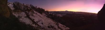 Фото Сумерки в горах