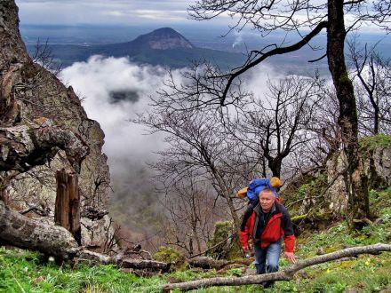Фото Горный турист