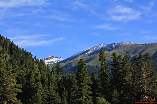 Фото Снежные вершины Архыза