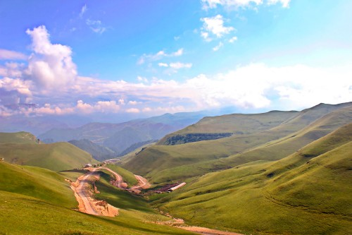 Фото Горные пейзажи Кабардино-Балкарии