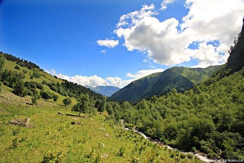 Фото Горные пейзажи Архыза