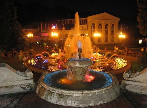 Фото Вечерний фонтан. Ессентуки