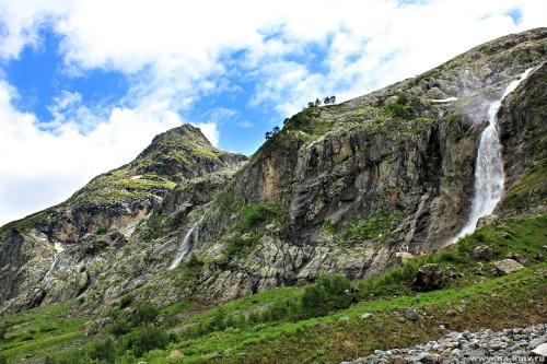 Фото Софийские водопады. Архыз