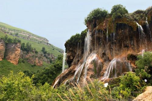 Фото Водопад Гедмишх. Тысячи струй