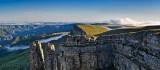 Рассвет на плато Бермамыт - Панорама