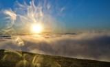 Рассвет на плато Бермамыт. Солнечные кружева...