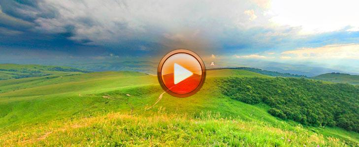 Гора Большое седло. Виртуальная прогулка по Кисловодску