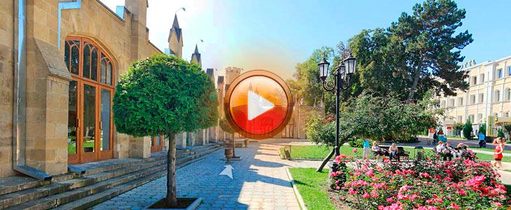 3D панорама Главная нарзанная галерея Кисловодска 360 панорама сферическая. Виртуальная прогулка